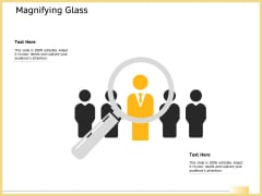 B2B Marketing Magnifying Glass Ppt Summary Good PDF