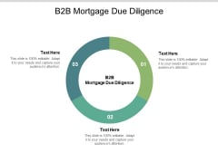 B2B Mortgage Due Diligence Ppt PowerPoint Presentation Professional Structure Cpb