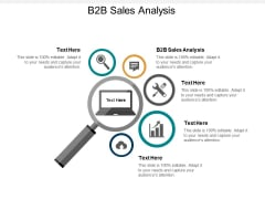 B2B Sales Analysis Ppt PowerPoint Presentation Infographic Template Show Cpb