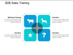 B2B Sales Training Ppt PowerPoint Presentation Ideas Professional Cpb