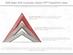 B2B Sales With Corporate Visions Ppt Powerpoint Ideas