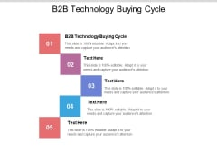 B2B Technology Buying Cycle Ppt PowerPoint Presentation Summary Introduction Cpb Pdf