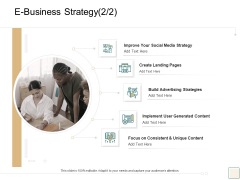 B2B Trade Management E Business Strategy Social Media Strategy Structure PDF