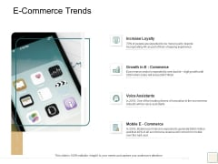B2B Trade Management E Commerce Trends Ppt Gallery Display PDF