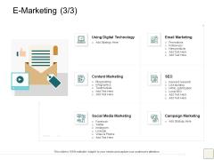 B2B Trade Management E Marketing Email Marketing Ppt Icon Example PDF