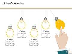 B2B Trade Management Idea Generation Ppt Slides Show PDF