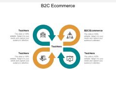 B2C Ecommerce Ppt PowerPoint Presentation Model Master Slide Cpb
