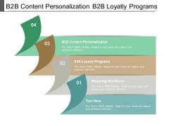 B2b Content Personalization B2b Loyatly Programs Retaining Workforce Ppt PowerPoint Presentation File Graphics