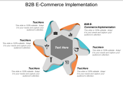B2b E Commerce Implementation Ppt PowerPoint Presentation Pictures Ideas Cpb