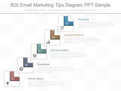 B2b Email Marketing Tips Diagram Ppt Sample