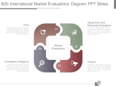 B2b International Market Evaluations Diagram Ppt Slides