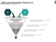 B2b Lead Generation Resources Ppt PowerPoint Presentation Slides Inspiration