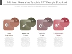 B2b Lead Generation Template Ppt Example Download
