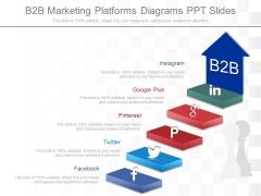B2b Marketing Platforms Diagrams Ppt Slides
