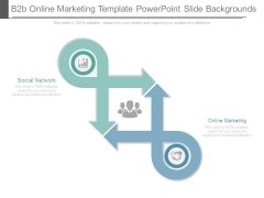 B2b Online Marketing Template Powerpoint Slide Backgrounds