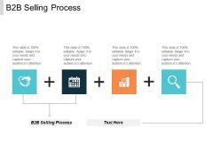 B2b Selling Process Ppt PowerPoint Presentation Portfolio Graphics Template Cpb
