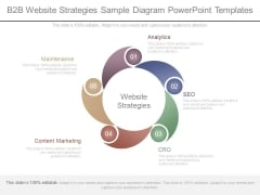 B2b Website Strategies Sample Diagram Powerpoint Templates