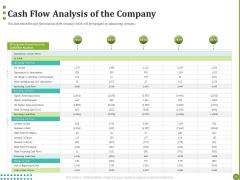BPO Managing Enterprise Financial Transactions Cash Flow Analysis Of The Company Professional PDF