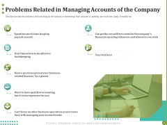 BPO Managing Enterprise Financial Transactions Problems Related In Managing Accounts Of The Company Topics PDF