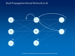 Back Propagation Neural Network In AI Ppt Infographic Template Layout PDF
