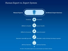 Back Propagation Program AI Human Expert Vs Expert System Ppt Pictures Slide Portrait PDF