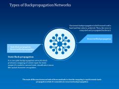 Back Propagation Program AI Types Of Backpropagation Networks Ppt Portfolio Maker PDF