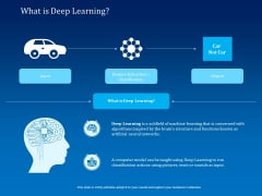Back Propagation Program AI What Is Deep Learning Ppt PowerPoint Presentation Outline Summary PDF
