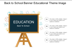 Back To School Banner Educational Theme Image Ppt PowerPoint Presentation Slides File Formats