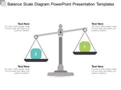 Balance Scale Diagram Powerpoint Presentation Templates Ppt Powerpoint Presentation Infographic Template