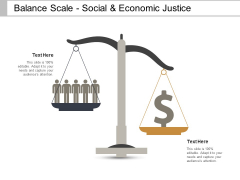 Balance Scale Social And Economic Justice Ppt PowerPoint Presentation File Show
