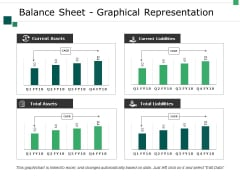 Balance Sheet Graphical Representation Ppt PowerPoint Presentation Infographics Layouts