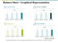 Balance Sheet Graphical Representation Ppt PowerPoint Presentation Inspiration Example