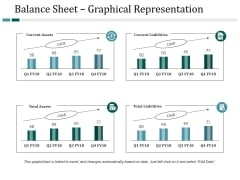 Balance Sheet Graphical Representation Ppt PowerPoint Presentation Inspiration Information