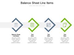 Balance Sheet Line Items Ppt PowerPoint Presentation Icon Portfolio Cpb Pdf