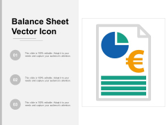 Balance Sheet Vector Icon Ppt Powerpoint Presentation Designs Download