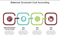 Balanced Scorecard Cost Accounting Ppt PowerPoint Presentation Outline Objects Cpb