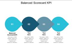 Balanced Scorecard KPI Ppt PowerPoint Presentation Slides Design Templates Cpb