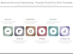 Balanced Scorecard Methodology Template Powerpoint Slide Templates