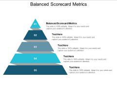 Balanced Scorecard Metrics Ppt PowerPoint Presentation Summary Influencers Cpb