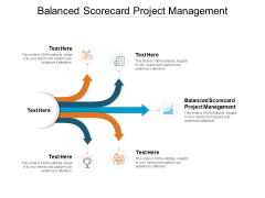 Balanced Scorecard Project Management Ppt PowerPoint Presentation Summary Example Introduction Cpb