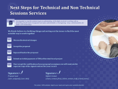 Balancing Skill Development Next Steps For Technical And Non Technical Sessions Services Formats PDF