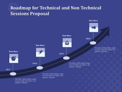 Balancing Skill Development Roadmap For Technical And Non Technical Sessions Proposal Sample PDF
