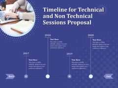 Balancing Skill Development Timeline For Technical And Non Technical Sessions Proposal Introduction PDF