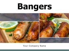 Bangers Vegetables Griller Ppt PowerPoint Presentation Complete Deck