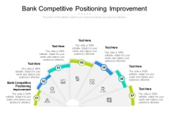Bank Competitive Positioning Improvement Ppt PowerPoint Presentation Portfolio Inspiration Cpb