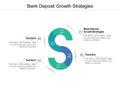 Bank Deposit Growth Strategies Ppt PowerPoint Presentation Model Guidelines Cpb