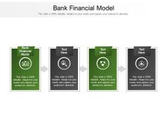 Bank Financial Model Ppt PowerPoint Presentation Professional Ideas Cpb Pdf