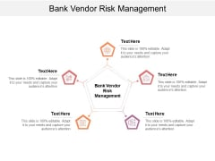 Bank Vendor Risk Management Ppt PowerPoint Presentation Show Visual Aids Cpb