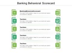 Banking Behavioral Scorecard Ppt PowerPoint Presentation Pictures Clipart Cpb Pdf