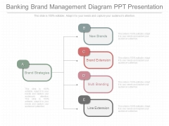 Banking Brand Management Diagram Ppt Presentation